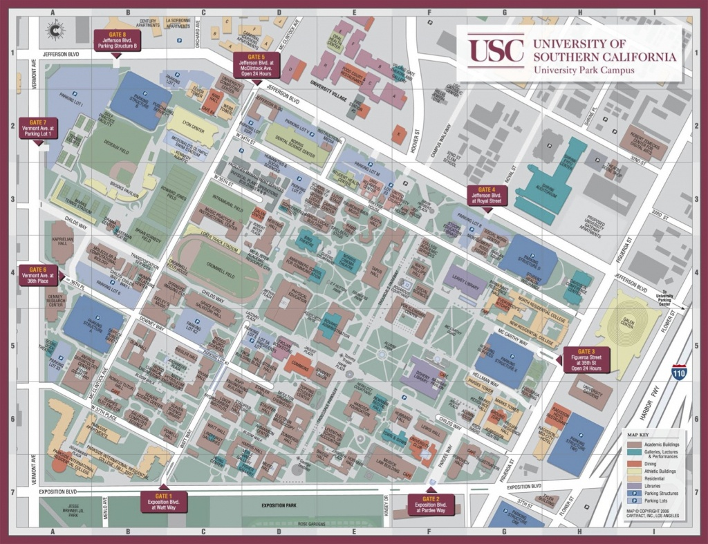 Usc Campus Map | 8 Seconds: Humane Decision Making Of The Idf - Usc Campus Map Printable
