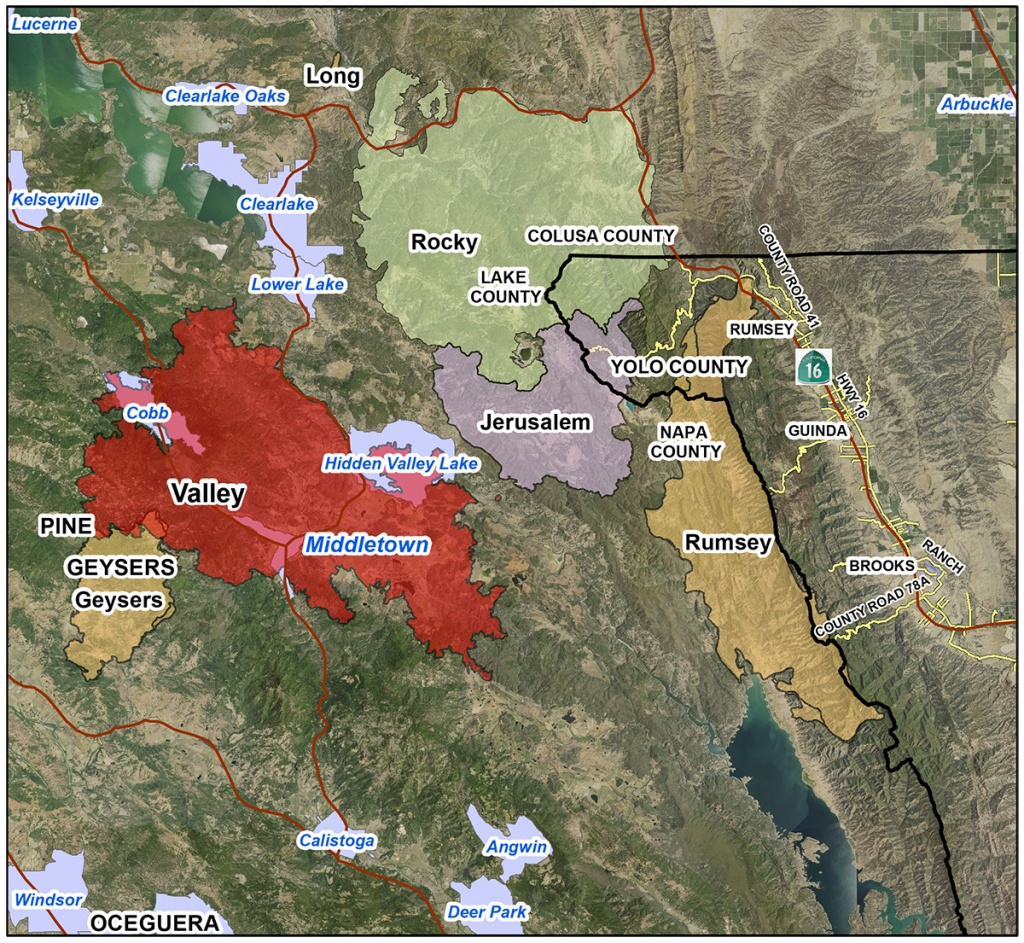 Usda California Agencies Offer Post-Fire Assistance; Assessments - Usda Eligibility Map California