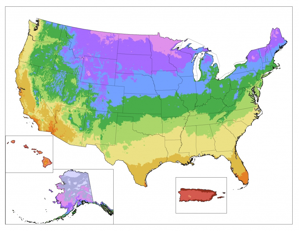 Usda Cold Hardiness Map / Zone Finder - Florida Building Code Climate Zone Map