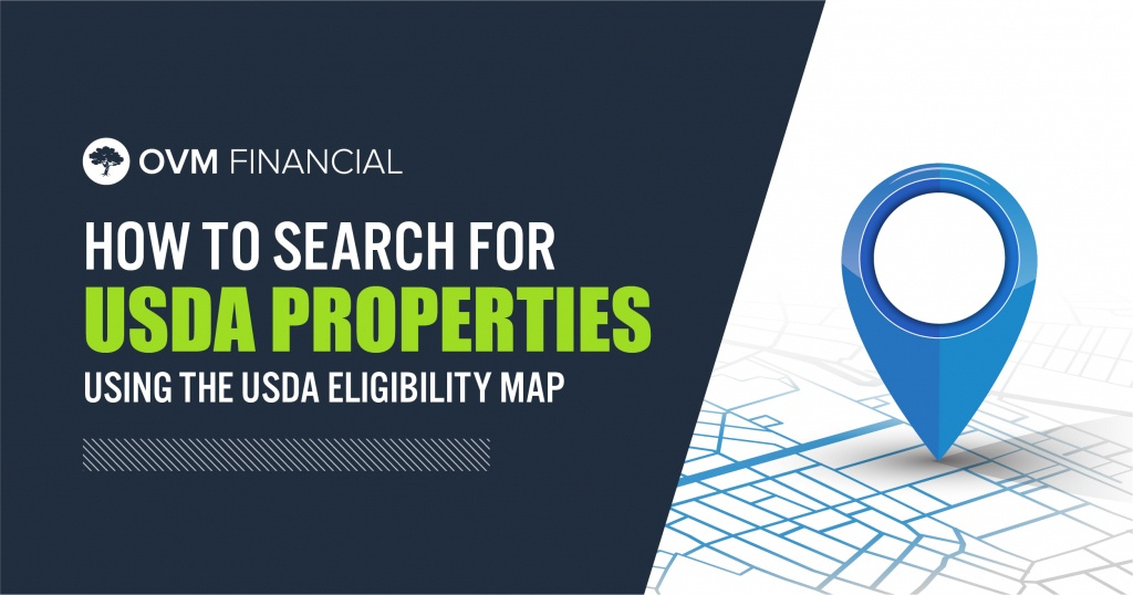 Usda Eligibility Map Is Key Before Looking For A No Money Down Home - Usda Eligibility Map California