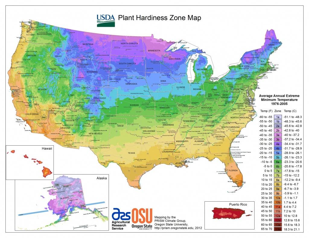 Usda Hardiness Zone Finder - Garden - Growing Zone Map California