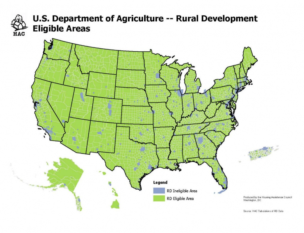Usda Home Loan Requirements [Updated 2018] | The Lenders Network - Usda Home Loan Map California