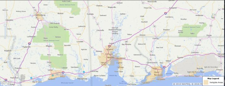 Usda Loan Eligibility Map Florida