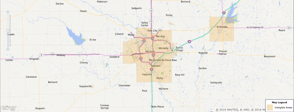 Usda Rural Development Loan - Wichita, Ks - Usa Home Financing - Usda Loan Map California