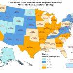 Usda Rural Development Notifies Rural Rental Housing Borrowers   Usda Loan Map California