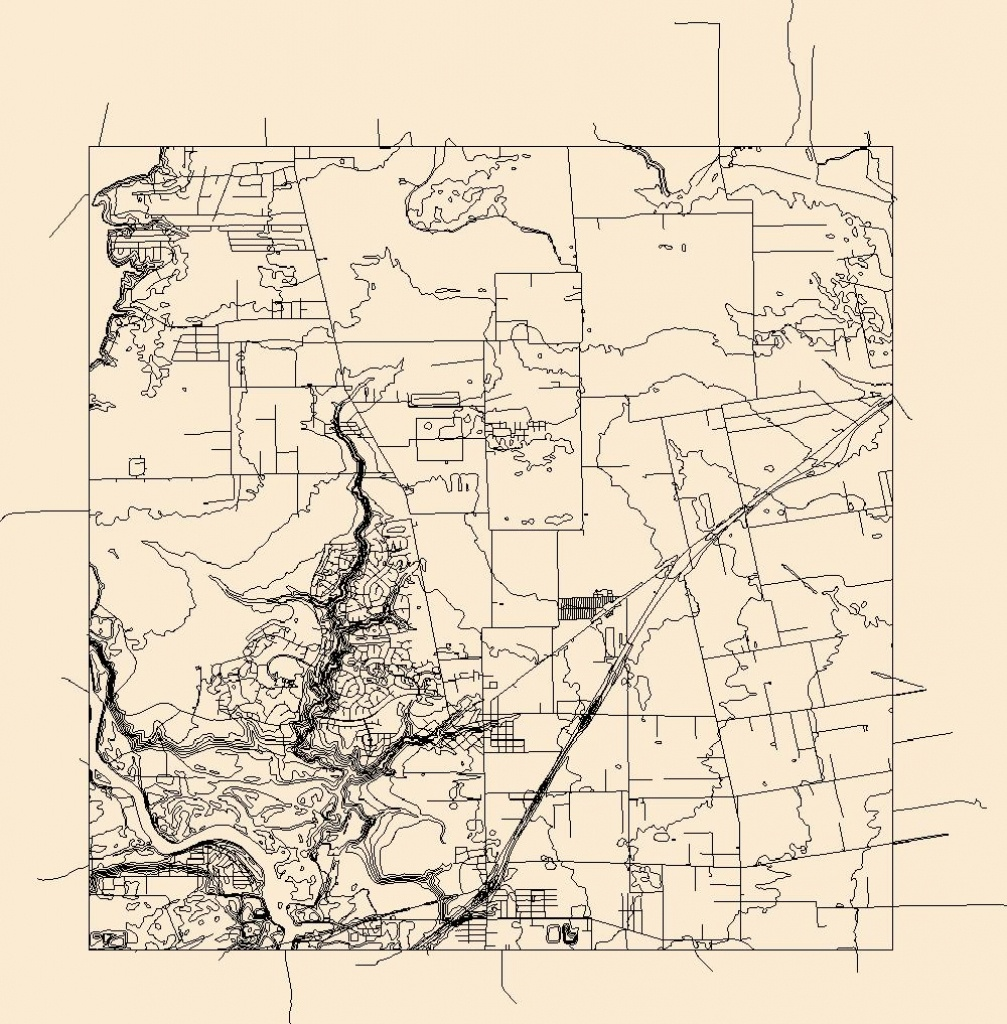 Usgs Combined Vector For Crosby, Texas 20160525 7.5 X 7.5 Minute - Crosby Texas Map