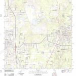 Usgs Topo Map Florida Fl Brooksville 20120720 Tm Restoration Stock - Brooksville Florida Map
