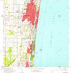 Usgs Topo Map Florida Fl Delray Beach 345827 1962 24000 Restoration   Highland Beach Florida Map