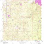Usgs Topo Map Florida Fl Lecanto 347200 1954 24000 Restoration Stock - Lecanto Florida Map
