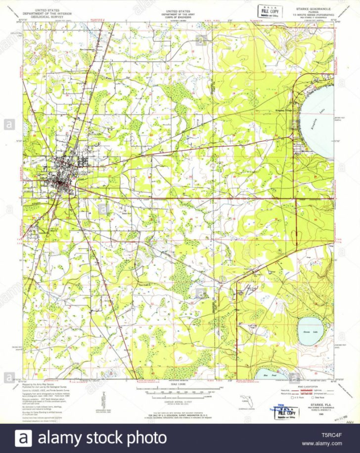 Starke Florida Map