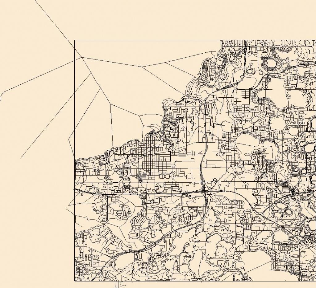 Usgs Topo Map Vector Data (Vector) 49546 Winter Garden, Florida - Usgs Topographic Maps Florida