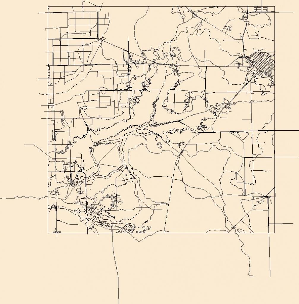 Usgs Topo Map Vector Data (Vector) 6208 Bunnell, Florida 20180626 - Bunnell Florida Map