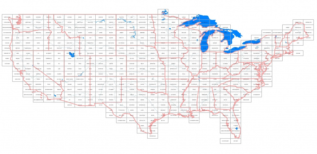 Usgs Topographic Maps Online, Topo Quad Jpg Drg Images - Buy Paper Topos - California Topographic Map Index
