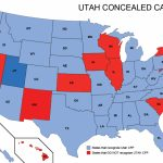 Utah Concealed Weapons Permit Reciprocity Map | Misc | Concealed   Florida Ccw Map