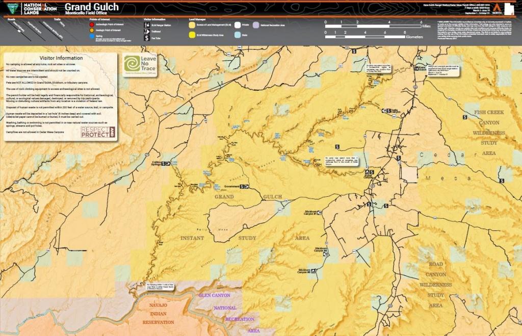 Utah - Maps | Bureau Of Land Management - Blm Ohv Maps California