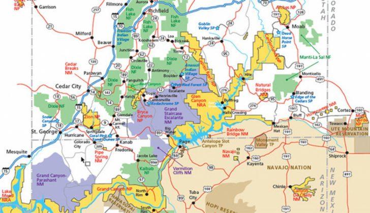 Utah State Map Printable