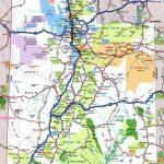 Utah Road Map   Utah Road Map Printable