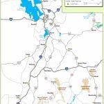 Utah State Maps | Usa | Maps Of Utah (Ut)   Utah Road Map Printable