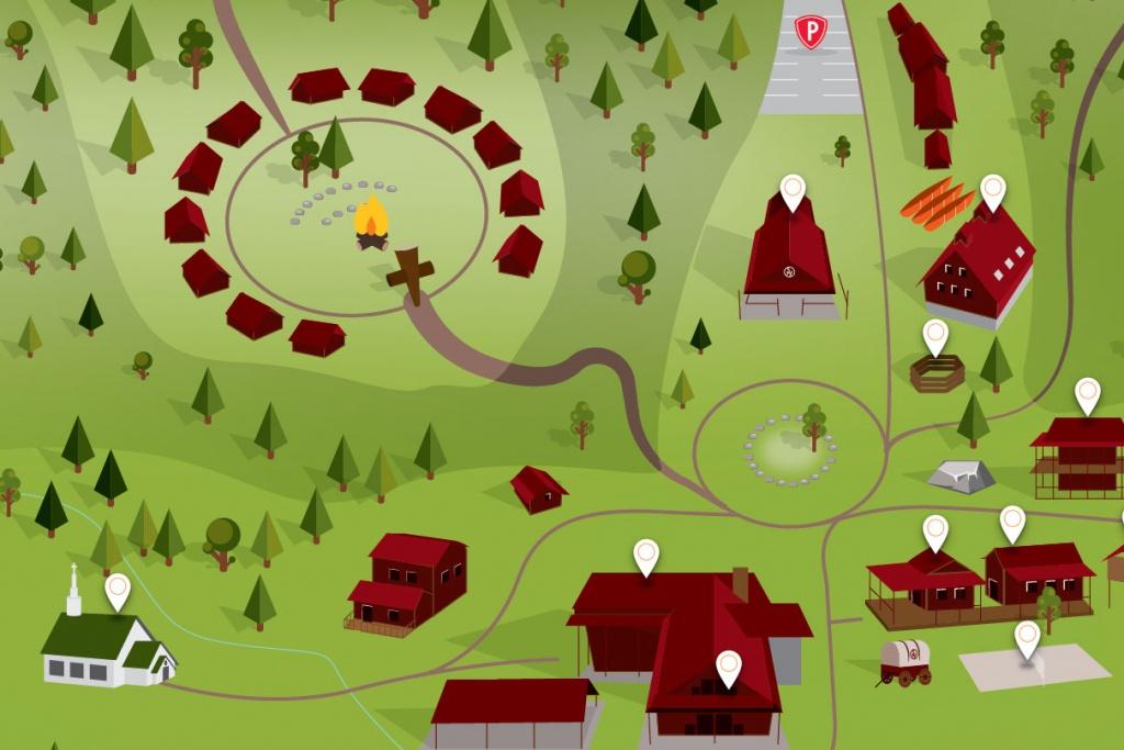 Ute Trail, Colorado | Sky Ranch Christian Camps - Sky Ranch Texas Map