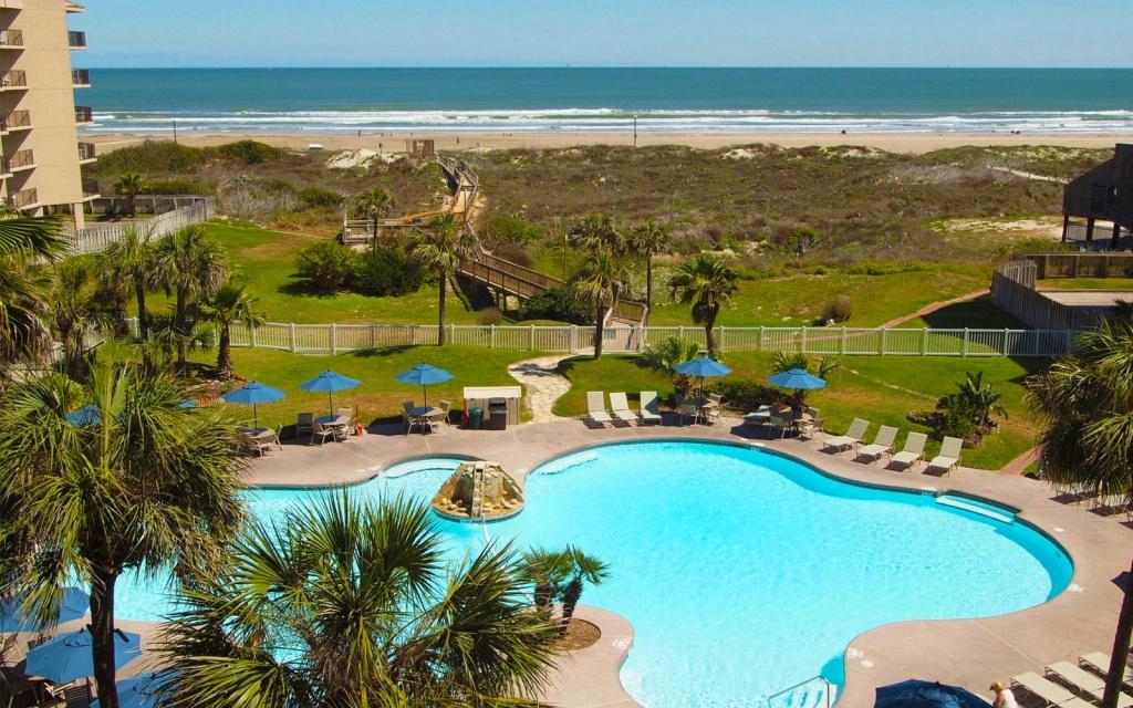 Vacation Rentals In Port Aransas, Tx | Sandcastle Condos - Map Of Hotels In Port Aransas Texas