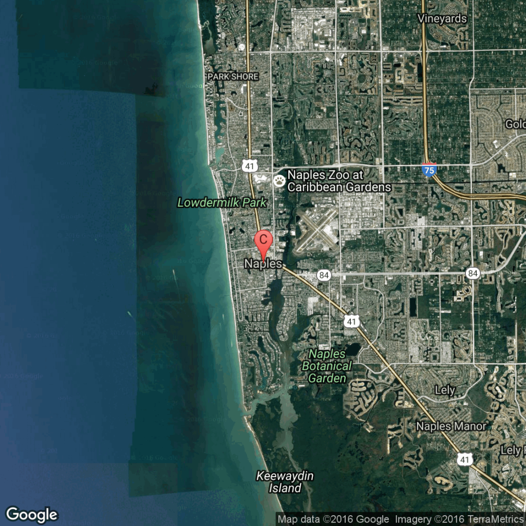 Vacations For Families In Naples, Florida | Usa Today - Golf Courses In Naples Florida Map