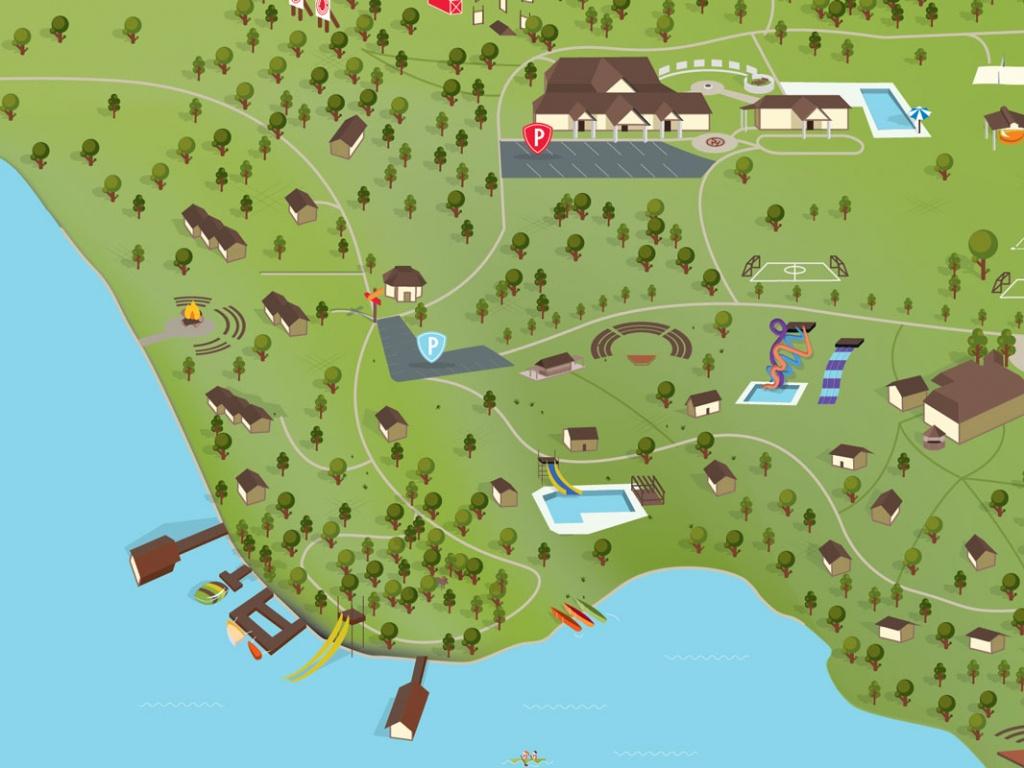 Van, Texas | Sky Ranch Christian Camps - Texas Grand Ranch Map