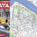Vandam   Cuba & Havana Maps, Hot Off The Press   Havana City Map Printable