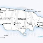 Vector Map Of Jamaica Political | One Stop Map   Printable Map Of Jamaica