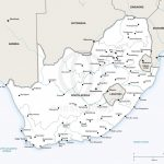 Vector Map Of South Africa Political | One Stop Map - Printable Map Of South Africa