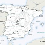 Vector Map Of Spain Political | One Stop Map   Printable Map Of Spain With Cities