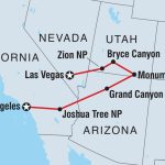 Vegas To La: Grand National Parks | Intrepid Travel Au - Map Of California National Parks And Monuments