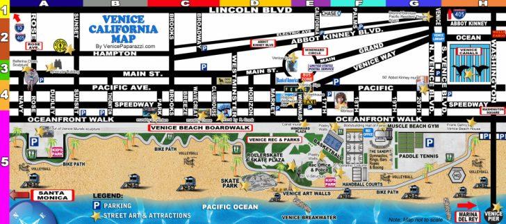 Venice Beach Florida Map