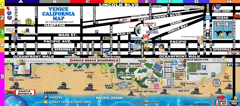 Venice-Map   La In 2019   Venice California, Venice Beach Florida - Venice Beach Florida Map