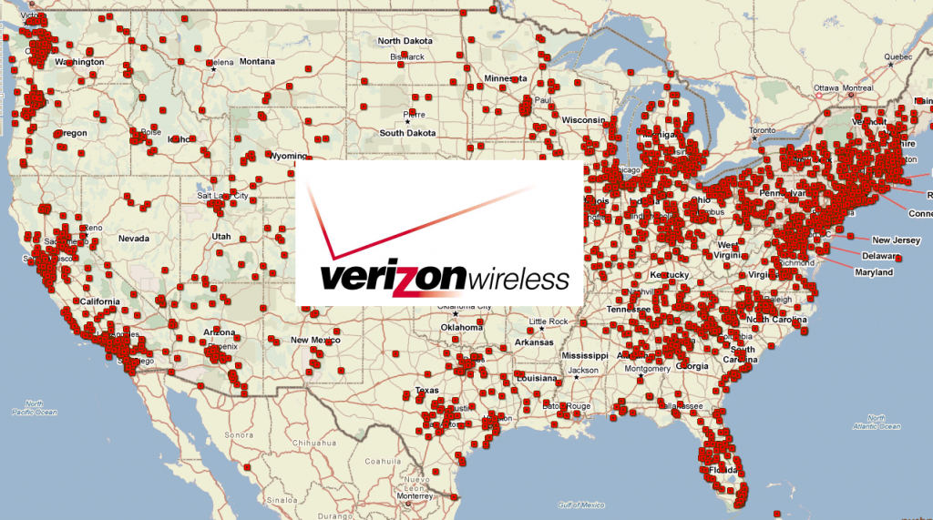 Verizon Wireless Plans And Coverage Review - Verizon Wireless Coverage Map California