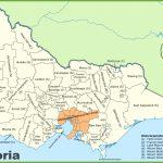 Victoria State Maps | Australia | Maps Of Victoria (Vic)   Printable Map Of Victoria Australia