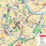 Vienna Map Ubahn Underground Subway Metro Stations Tram Stops   Vienna Tourist Map Printable