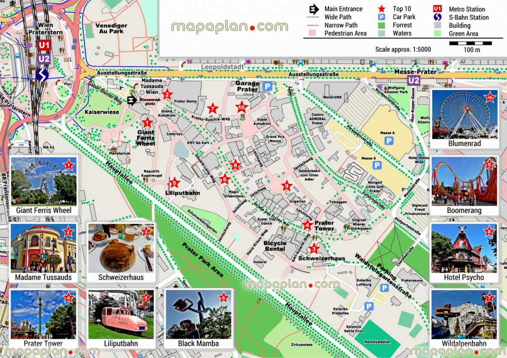 Vienna Maps Top Tourist Attractions Free Printable City – Vienna - Oxford Tourist Map Printable