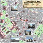 Vienna Tourist Attractions Map   Vienna Tourist Map Printable