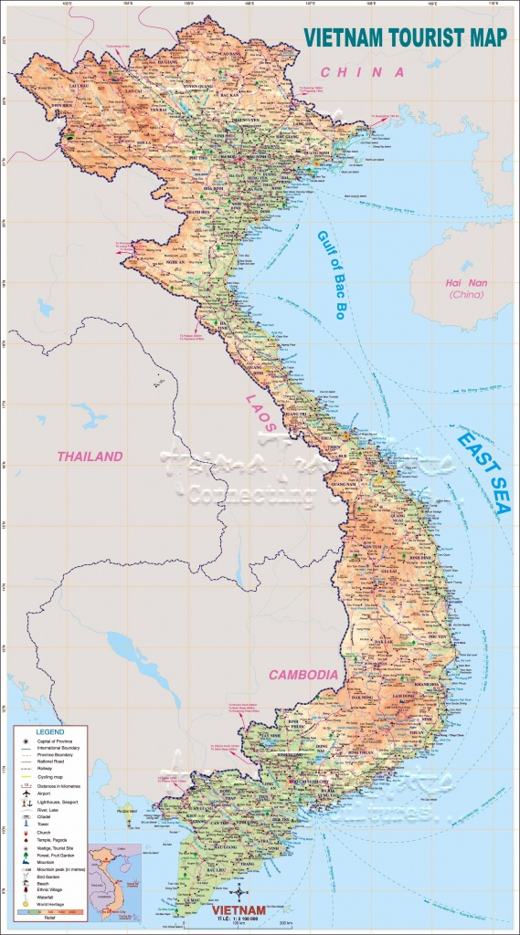Vietnam Maps | Printable Maps Of Vietnam For Download - Printable Map Of Vietnam