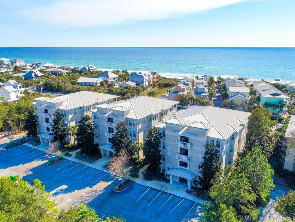 Villas At Seagrove Beach 302C | Seagrove Beach Vacation Rentals - Where Is Seagrove Beach Florida On A Map