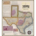 Vinmaps Texas Wine Country Map, Appellations & Wineries Review   Texas Hill Country Wine Trail Map