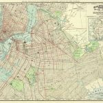 Vintage Brooklyn Map Old Map 1891 Brooklyn Ny Colorful   Etsy   Printable Map Of Brooklyn