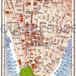 Vintage Nyc Map   Old Map 1915 Lower Manhattan New York City   Colorful  Antique Map Instant Download Digital Printable Map   Manhattan City Map Printable