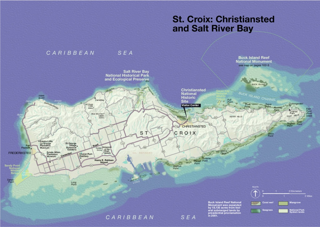 Virgin Islands Maps | Npmaps - Just Free Maps, Period. - Printable Map Of St Croix