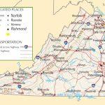 Virginia Highway Map   Printable Map Of Virginia