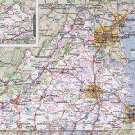 Virginia Road Map   Printable Map Of Virginia