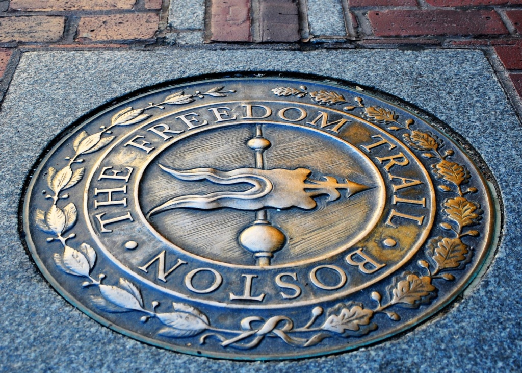 Visit | The Freedom Trail - Freedom Trail Map Printable