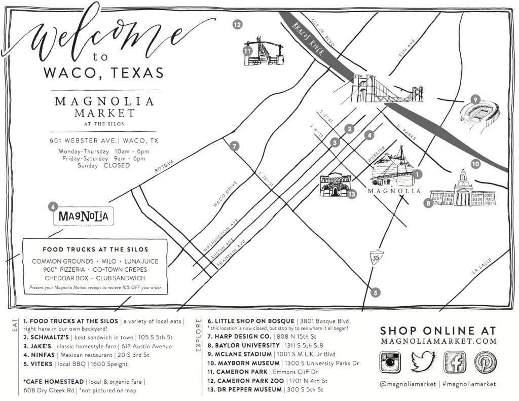 Visit The Silos - Magnolia Market In 2019 | Bucket List | Magnolia - Magnolia Texas Map