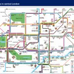 Visitors And Tourists   Transport For London   Printable London Tube Map Pdf