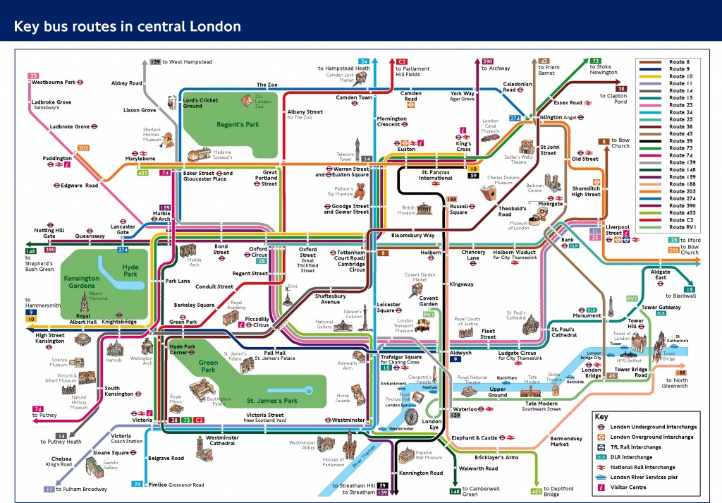 Visitors And Tourists - Transport For London - Printable London Tube Map Pdf